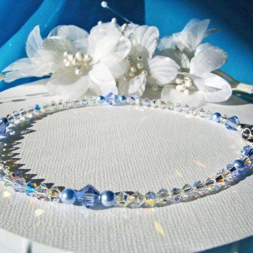 7 best Something Blue Anklets images on Pinterest Anklet bracelet