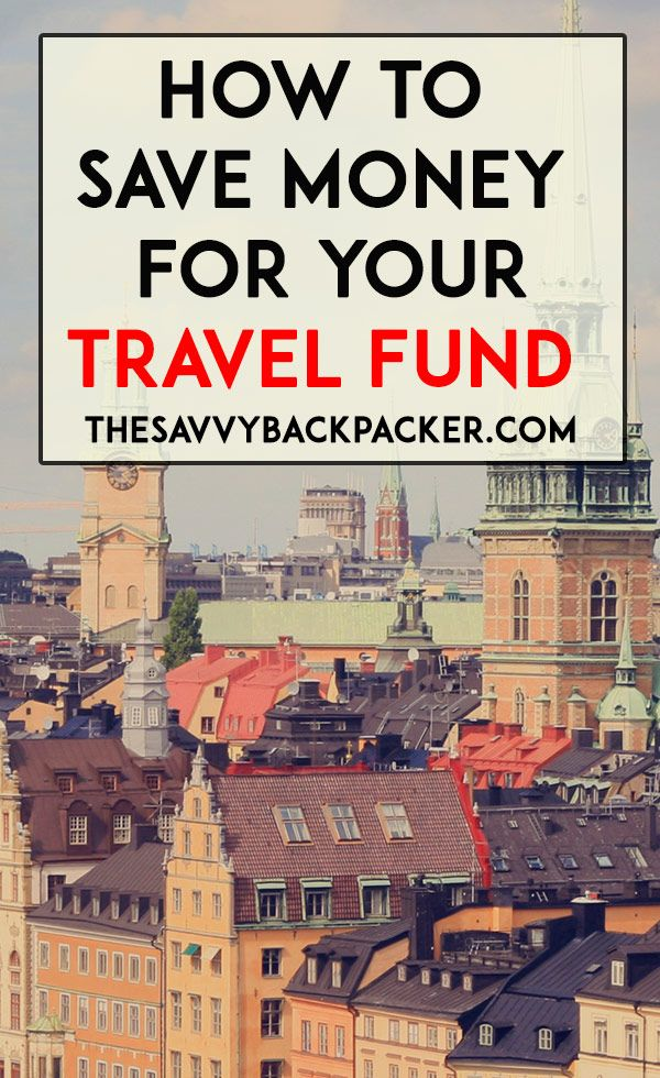 Tips and advice for saving for your travel fund so you can travel through Europe.