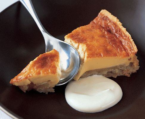 James Martin's baked pear and honey tart http://www.eatout.co.za/recipe/james-martins-baked-pear-and-honey-tart/