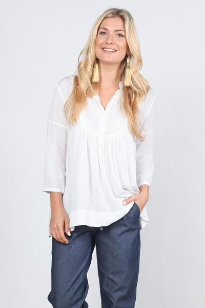 Sparrow Shirt in White