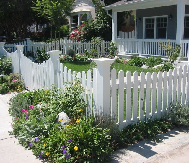 20 Ways To Spiff Up Your Backyard For Spring: Top 25 Ideas About Front Fence On Pinterest
