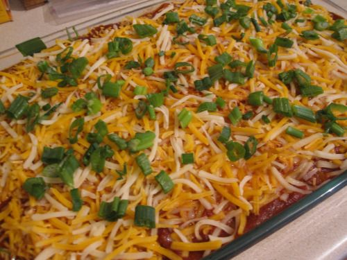 No Tortilla Cheesy Chicken Enchilada Bake Thms