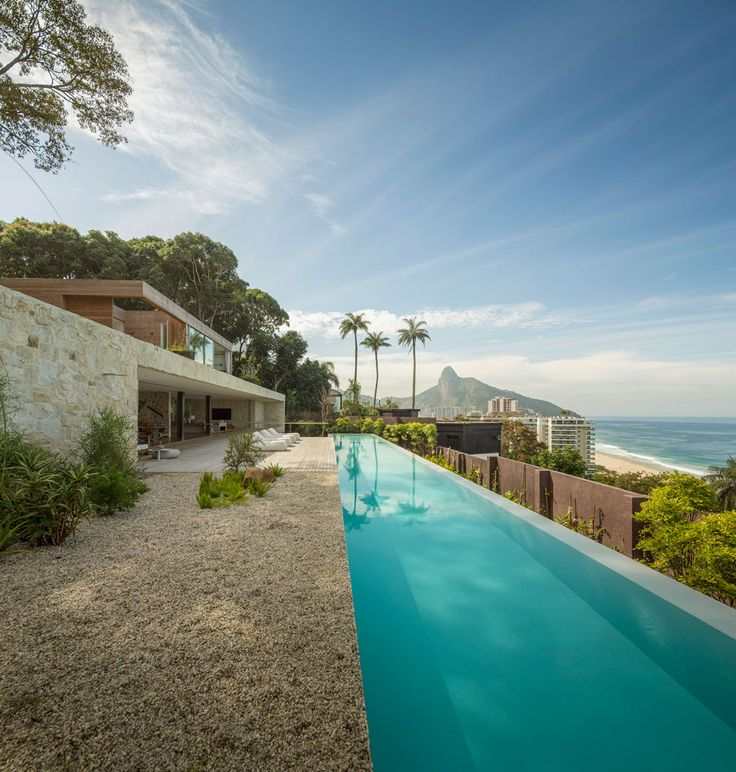 AL House: open interiors and sandstone walls define this Brazil home by Arthur Casas | Architecture | Wallpaper* Magazine