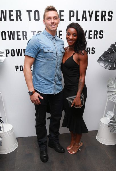 Crystal Dunn with desirable, Husband Pierre Soubrier