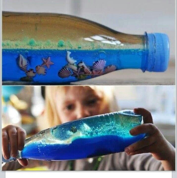 DIY under the sea in a bottle