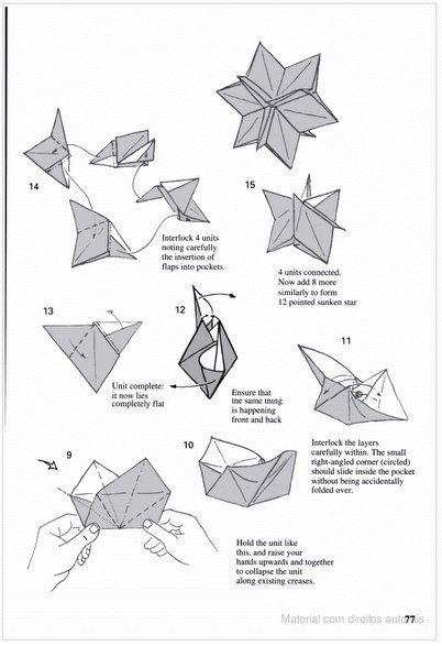 origami diagrama espiral de tomoko fuse
