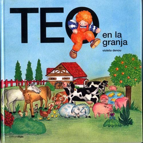 De los cuentos mejores para captan la atención de los niños.  Conoce a los animales de la granja con Teo. http://www.planetadelibros.com/teo-en-la-granja-libro-3449.html#ficha_tecnica