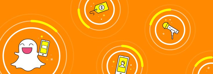 Ghost with phone, microphone, and price tags floating in circles.