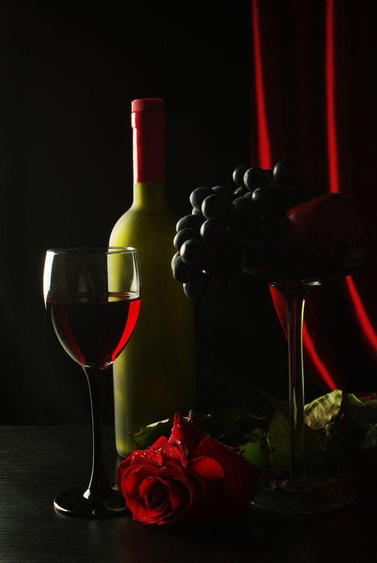 странице красивые картинки вино вечером том
