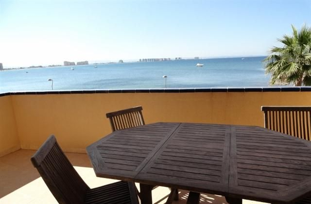 2 Bedroom Apartment in La Manga Del Mar Menor to rent from £325 pw. With balcony/terrace, TV and DVD.