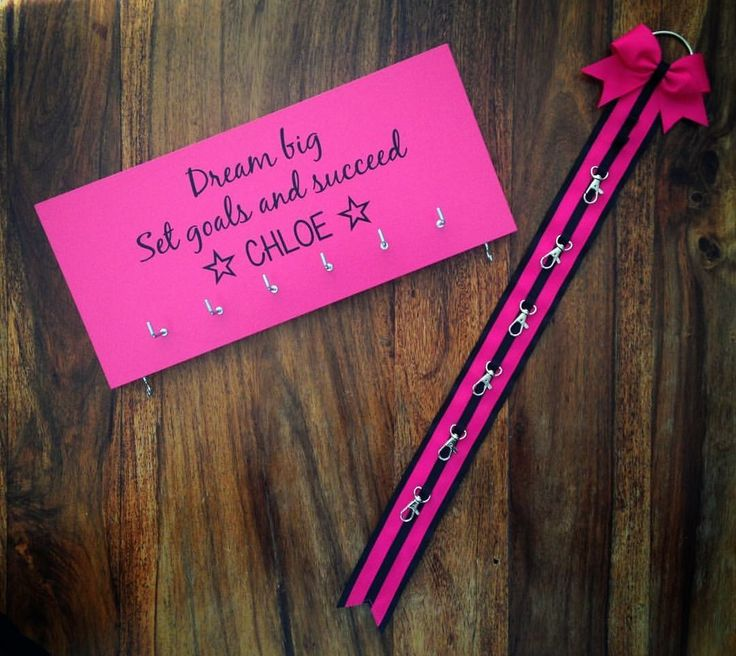 Custom medal holder/bow holder set
