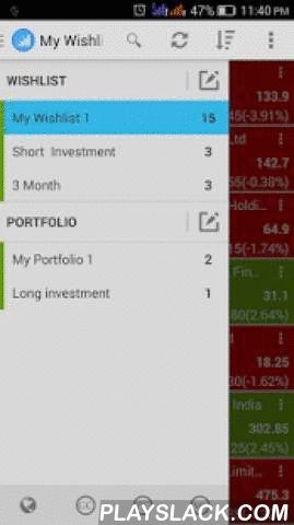 Stock TW - Stock Track & Watch  Android App - playslack.com ,  Stock TW - is Stock Market Watch application for Track you Stock in world wide stock marketTrack your investment / portfolio / wishlist from world top stock market like DJI, NASDAQ, NIKKEI, NSE and BSEWe Provide multiple Wishlist, Portfolio and alert Management. We can analysis the stock with charts and portfolio updates.Stock TW - Stock Track & Watch is a best stock tracking tool for real time stock update. This tool can…