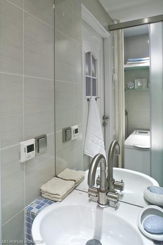 W niedużej łazience bez okien najważniejsze jest: