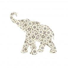 Sticker Bébé éléphant - Gris