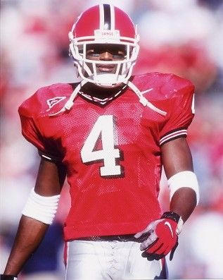 Champ Bailey was a cornerback for Georgia from 1996-1998. He started every game for Georgia following his freshman year. He was the number 7 overall pick in the 1999 NFL Draft.