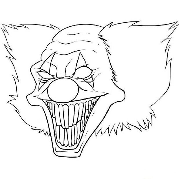 find this pin and more on horror coloring pages