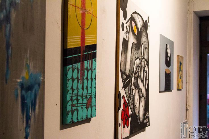 """20 Maggio 2016 - """"La Mostra nel Cemento"""" esposizione collettiva degli artisti in residenza per Inseminazione Artistica"""