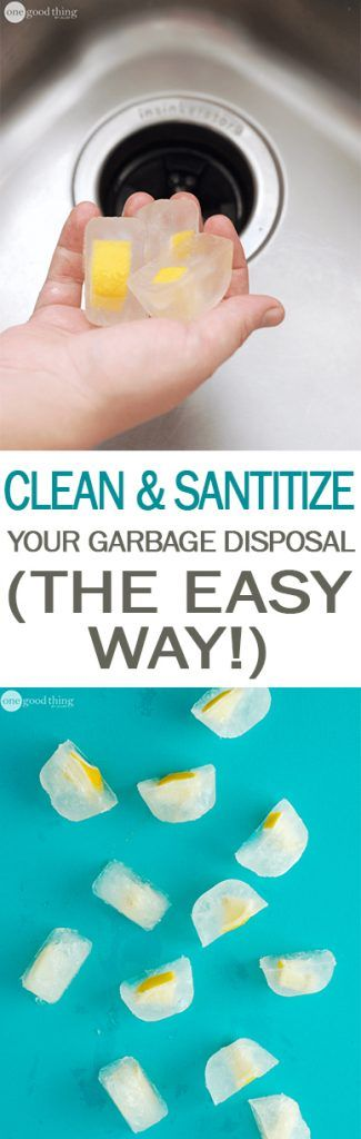 How to Clean Your Garbage Disposal, Cleaning Your Garbage Disposal, Garbage Disposal Cleaning Tips, Easy Ways to Clean Your Kitchen, Kitchen Cleaning Hacks, Clutter Free Kitchen, How to Keep Your Kitchen Clutter Free, Popular Pin