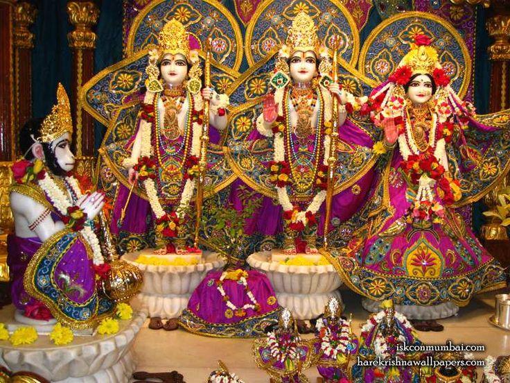http://harekrishnawallpapers.com/sri-sri-sita-rama-laxman-hanuman-iskcon-juhu-wallpaper-006/