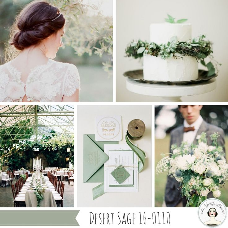 Top 10 wedding colours for autumn 2015 from pantone fall Sage green pantone