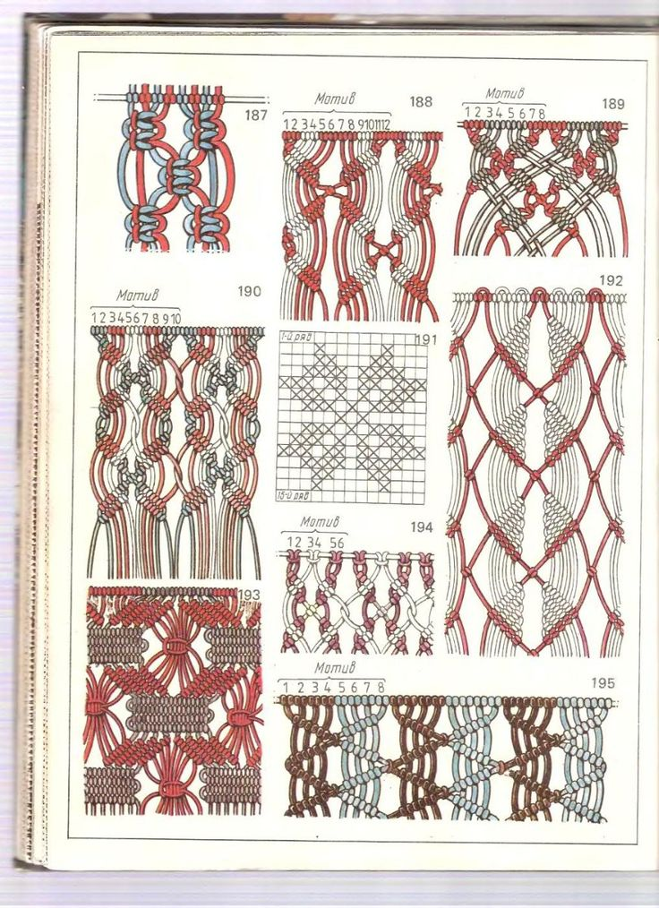 Best 25 macrame knots ideas on pinterest macrame - Macrame paso a paso ...
