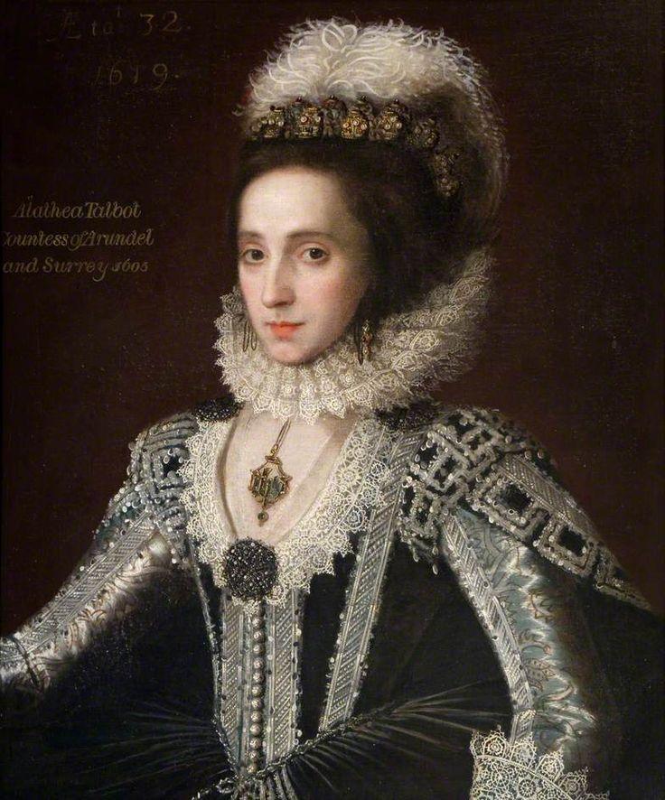 Alathea Talbot,Countess of Arundel and Surrey,1619 British School
