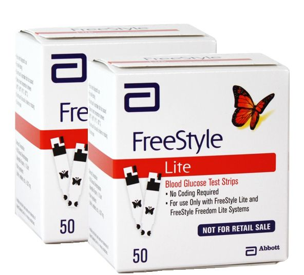 56 best diabetic test strips images on pinterest diabetes supplies the freestyle lite test strips by abbott are made to be used with the freestyle lite blood glucose monitoring system and freestyle freedom lite glucose mozeypictures Gallery