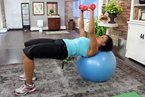 15 best exercise health info images on pinterest healthy living deporte and exercise ball. Black Bedroom Furniture Sets. Home Design Ideas