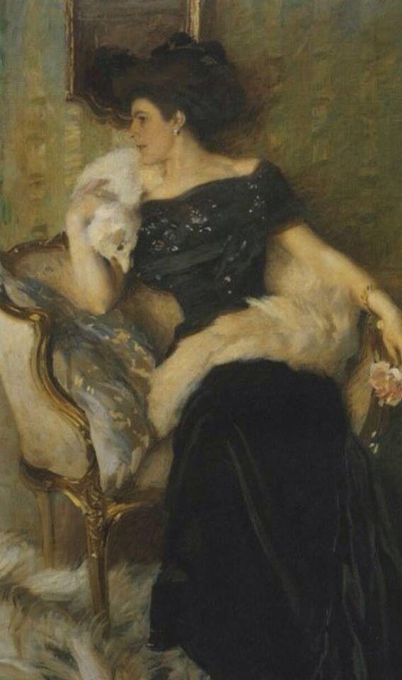 La Signora Pellegrini, 1910 Ettore Tito