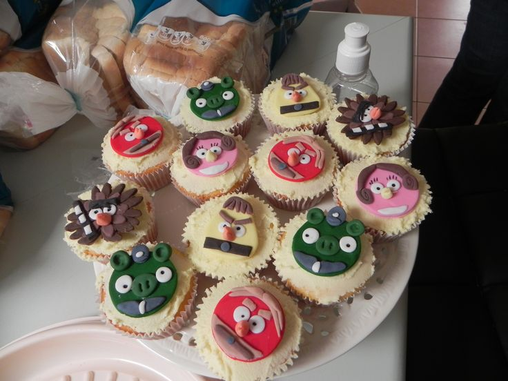 Harry & Nicks Angry Birds Star Wars Cupcake Toppers