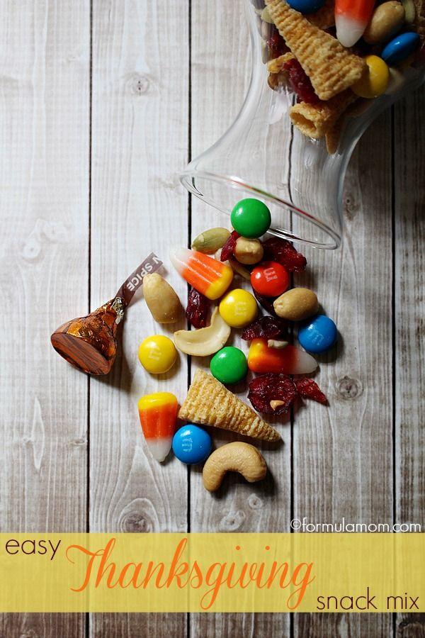 Thanksgiving Snack Mix Recipe #thanksgiving #recipe