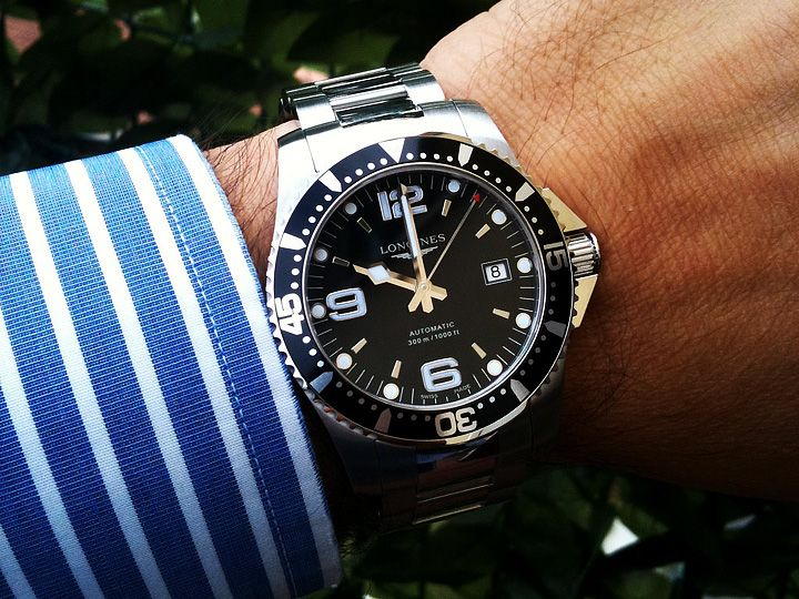 2015-2016 Longines Hydroconquest Watches   http://crackwatches.com/2015-2016-longines-hydroconquest-watches/