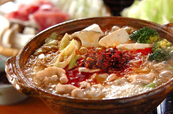 麻婆鍋のレシピ・作り方 - 簡単プロの料理レシピ | E・レシピ