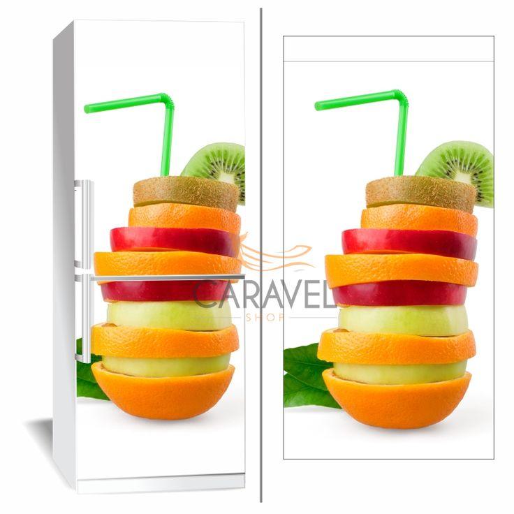 Αυτοκόλλητο Ψυγείου Φρούτα