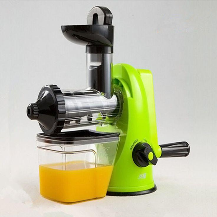 7 best juicers images on pinterest citrus juicer juicers and kitchens portable juicing machine manual blend fresh health fruit vegetable apple orange lemon juicer juicing machine kitchen fandeluxe Images