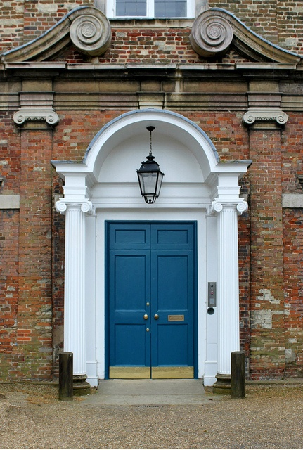 Blue Door: The Bishop's Palace | Flickr - Photo Sharing!