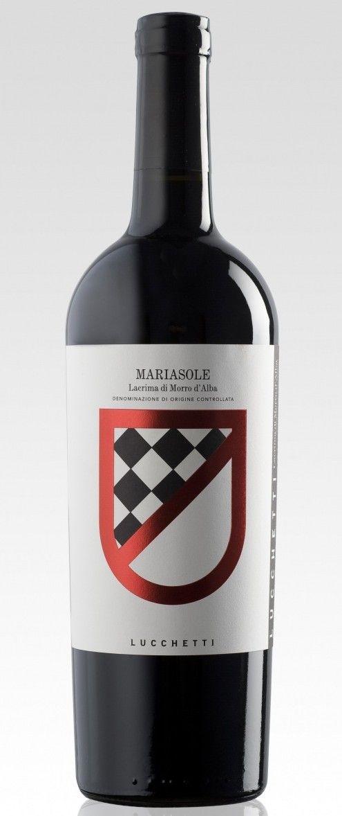 Mariasole Lucchetti, Lacrima di Morro d'Alba in stile Amarone #wine mxm #stilovino
