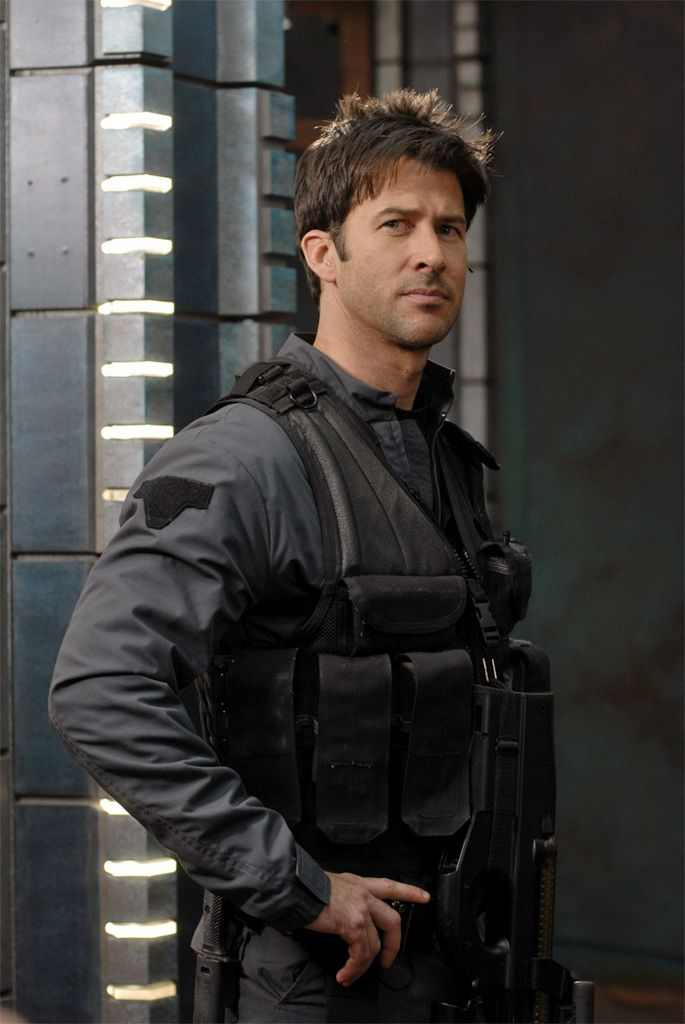 Joe Flanigan (Oh John Sheppard....I really have to re-watch Stargate Atlantis)