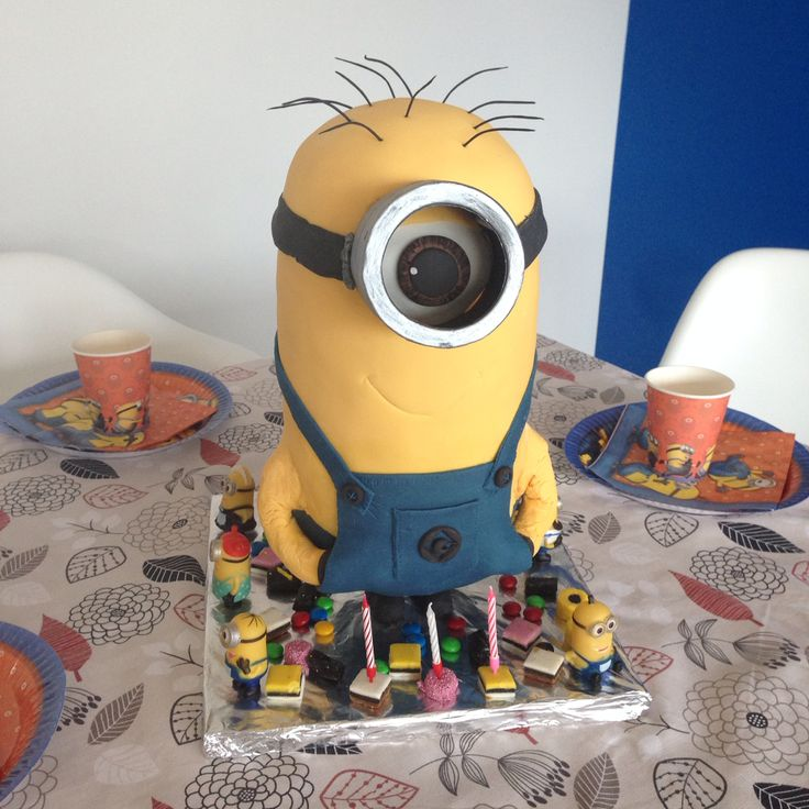This Minions is for my little boy 3years old birthday party.
