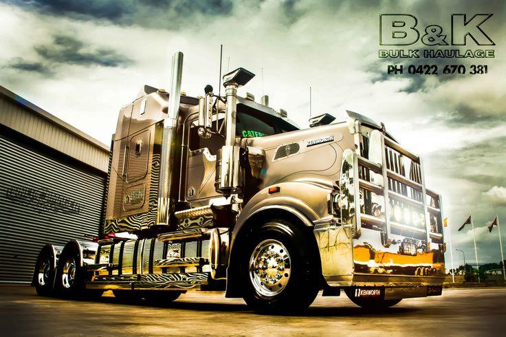 B & K Bulk Haulage Kenworth T908