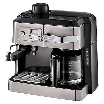 Delonghi Combination Drip Coffee, Espresso, Cappuccino and Latte Machine
