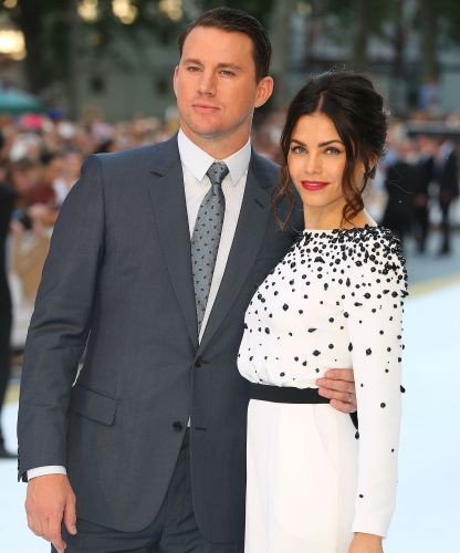 Channing Tatum takes beautiful, sultry & makeup-free photos of wife Jenna