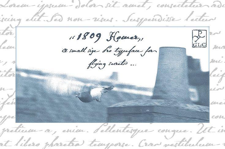 1809 Homer PRO OTF by GLC Foundry on @creativemarket