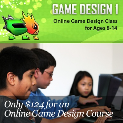 $124 for an Interactive, Online, Video Game Design Course   http://www.kuklamoo.com/offers/view/gamedesign