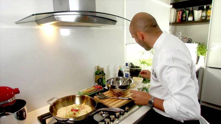 Adam D'Sylva's Wok Fried Queensland Spanner Crab Omelette