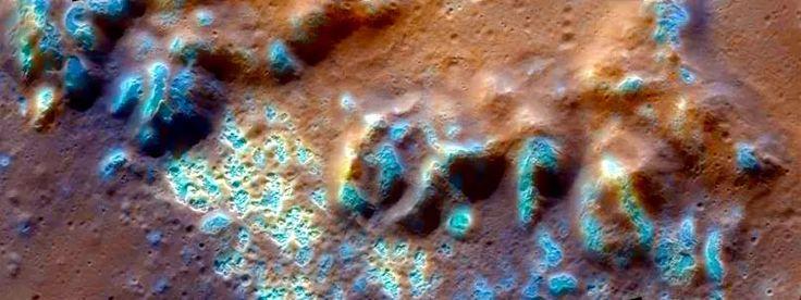 Les mystérieux gouffres de Mercure, dans le cratère Raditlati