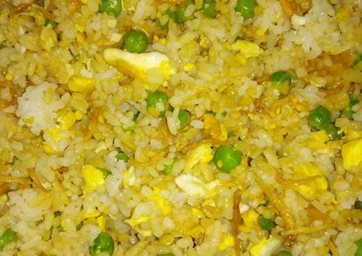 Nasi Goreng Teri (Anchovy Fried Rice)