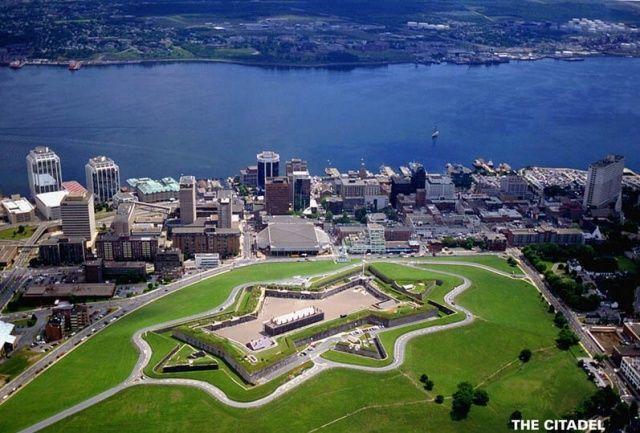 Halifax Citadel, Nova Scotia. I remember when I thought this was a big city!