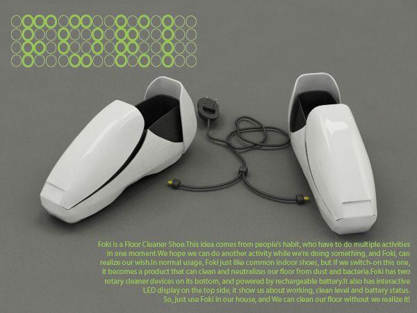 FOKI shoes - Coroflot --- Germ vacuum shoes, design concept competition submission.