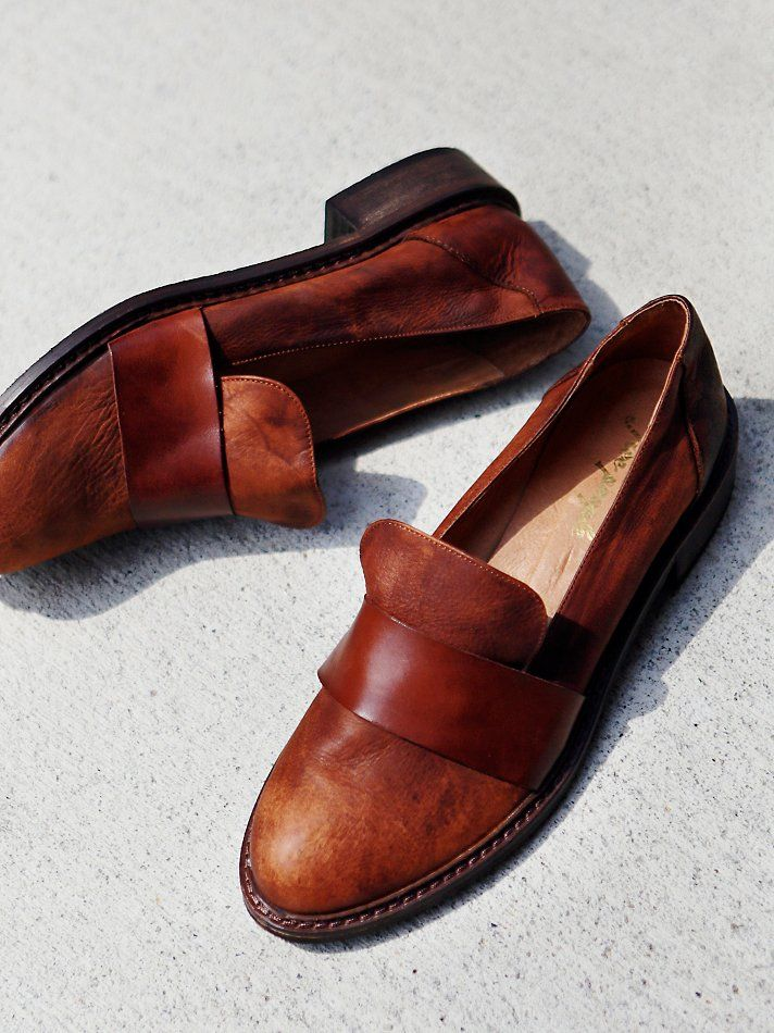 Not your typical loafer. I like.